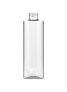 150ml priesvitná PET fľaša s 24mm hrdlom bez uzávera