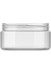200ml Clear Plastic Jar 89mm neck PET Plastic