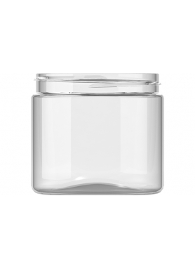 200ml Clear Plastic Jar 70mm neck PET Plastic
