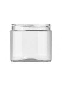 200ml Clear Plastic Jar 70mm neck PET Plastic