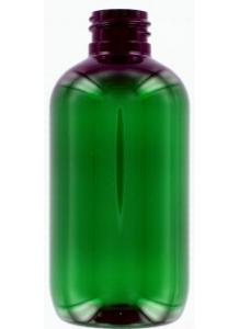 250ml zelená PET fľaša s 24mm hrdlom