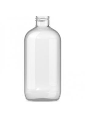 250ml priesvitn8 PET fľaša s 24mm hrdlom (s uzáverom)