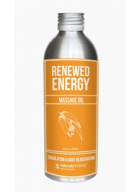 Renewed Energy - uplifting massage oil