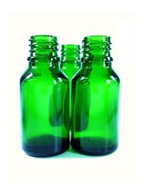 10ml sklenená zelená fľaštička s pipetou. Hrdlo 18mm.