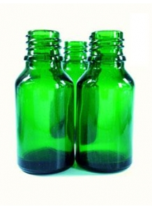 10ml green glass dropper bottle 18mm neck