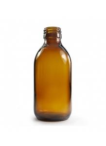 200ml sklenená hnedá fľaša s uzáverom 28mm