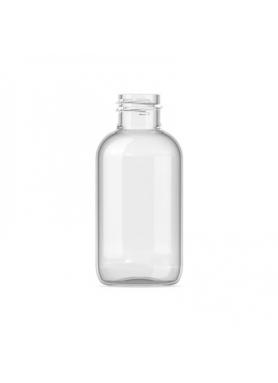 30ml priesvitná PET fľaša 20mm hrdlo s hliník. uzáverom