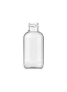 030ml Clear Plastic Boston Bottle 20mm neck