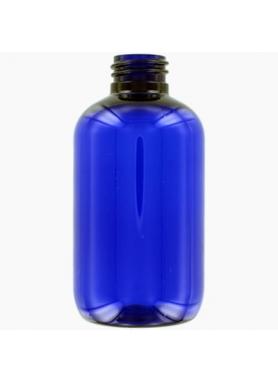 100ml modra PET fľaša s 20mm hrdlom (s uzáverom)