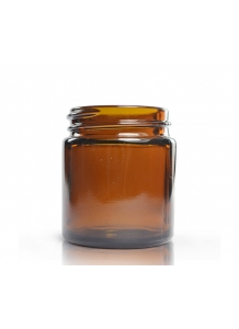 Amber Glass jar 30ml 38mm neck