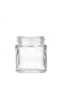 30ml Clear glass jar 38mm neck