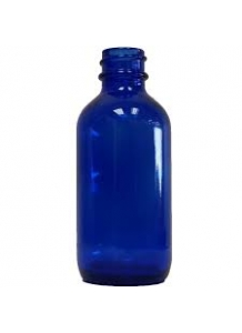 50ml blue glass dropper bottle 18mm neck