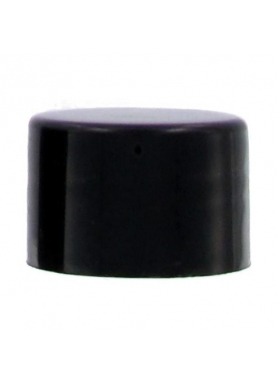 24mm black cap