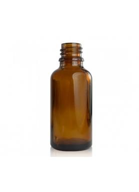 50ml sklo hnedá fľaša 18mm hrdlo