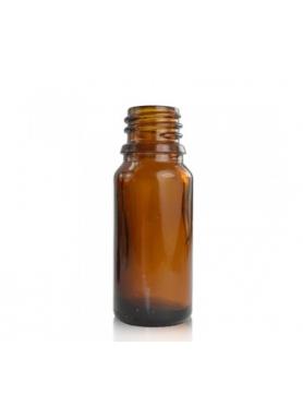 10ml hnedá sklenená fľaštička 18mm hrdlo