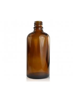 100ml sklenená hnedá fľaša 18mm hrdlo