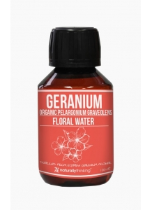 Naturally Thinking Organic Geranium water 100ml