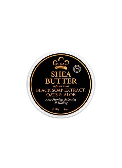 Bio Bambucké maslo Africké čierne mydlo s Aloe Vera 114g