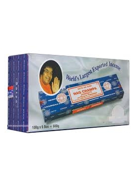 Nag Champa incense sticks 100g (Set of 6)