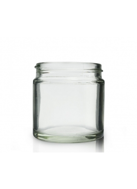 60ml clear glass jar 48mm neck