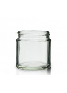 60ml clear glass jar 48mm neck