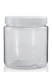 Price	Qty	Total 300ml Clear PVC Plastic Jar & 70mm White Screw Lid