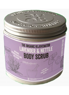 THE ORGANIC REJUVENATOR LAVENDER & NETTLE BODY SCRUB