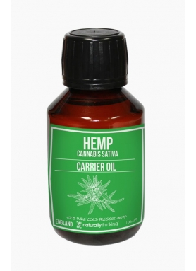 Organic Hemp carrier oil