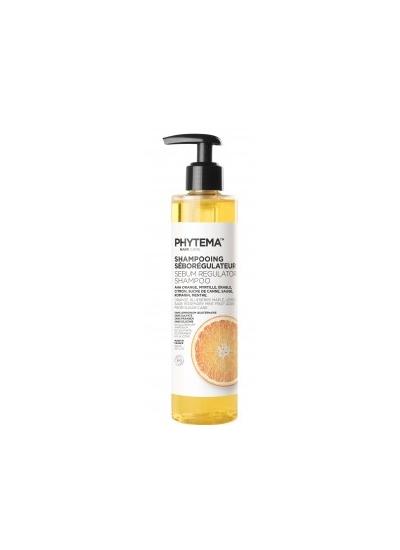 PhytemaBio Positiv'hair Organic shampoo SEBUM REGULATOR 250ml