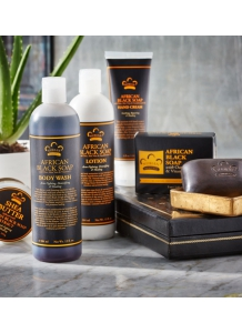 Nubian Heritage: Sada produktov Africké čierne mydlo