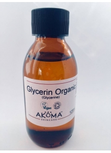 Glycerin Certified Organic (Food & Cosmetic Grade) 125ml