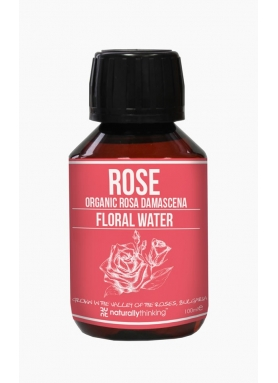Pure Organic Rose water 1l