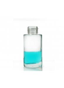 """50ml """"Beauty"""" sklenená priesvitná fľaša 24mm hrdlo"""
