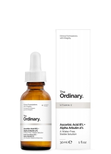 The Ordinary Ascorbic Acid 8% + Alpha Arbutin 2% 30ml