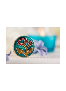 Song of India Solid Perfume Budha Delight 4g