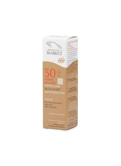 ALGA MARIS Alga Maris Toned Sun Cream Face Light SPF 30 clear 50 ml