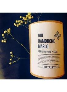 Natureal BIO bambucké maslo nerafinované 550g
