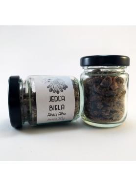 Jedľa biela, Abies Alba, živica - sklenená tuba 30g