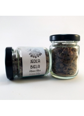 White Pine Needle,  Abies Alba, živica - sklenená tuba 30g