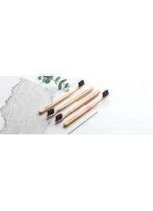 EcoHeart Eko bambusová kefka soft BLACK