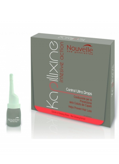 Nouvelle Kapillixine Control Drops Prevents Hair Loss 10 x 10ml
