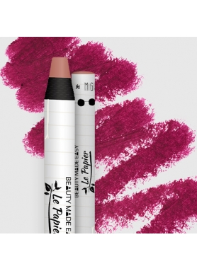 LePapier Natural Lip Matt Balm in paper tube 6g – Cerise