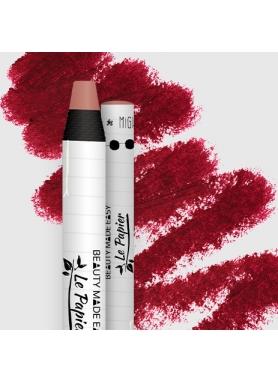 LePapier Natural Lip Matt Balm in paper tube 6g – Ruby