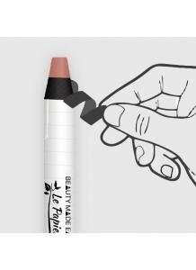LePapier Prírodný rúž v papierovom obale lesklý, 6g – Blush