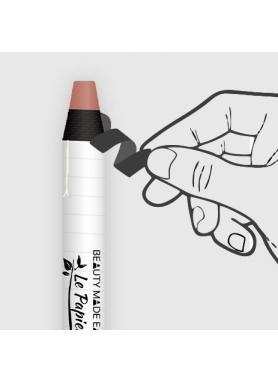 LePapier Natural Lipstick  in paper tube 6g – Blossom