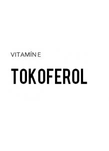 Natureal Natureal  Tocopherol   Vitamin E (natural)