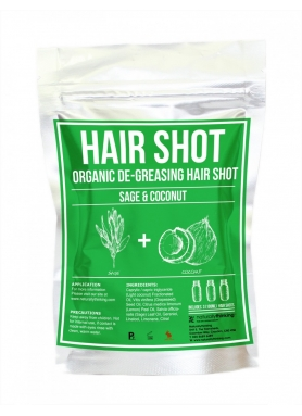 Organic Sage & Coconut Hair De-Greasing Hair Shot