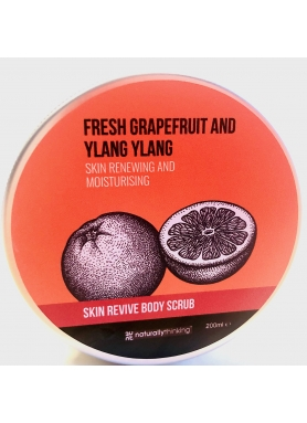 Naturally Thinking Ylang Ylang & Grep body scrub 200ml