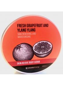 Naturally Thinking Ylang Ylang & Grep telový scrub 200ml