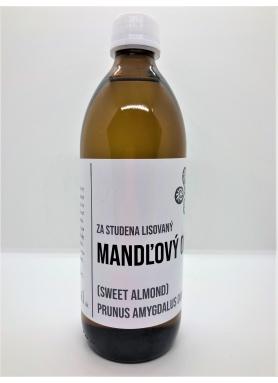 Natureal Mandľový olej za studena lisovaný 500ml